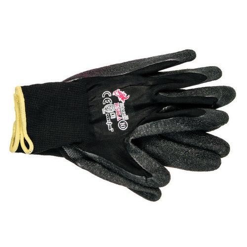 Rękawice nylonowe powlekane lateksem RNYLAB, rozm. 10 (XL)