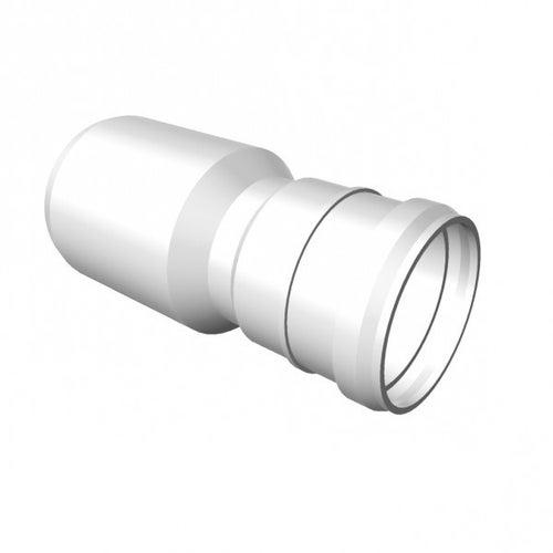 Redukcja kanalizacyjna prosta z kielichem 40/50 mm