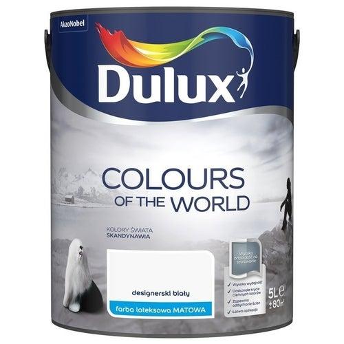 Farba Dulux Kolory Świata designerski biały 5l