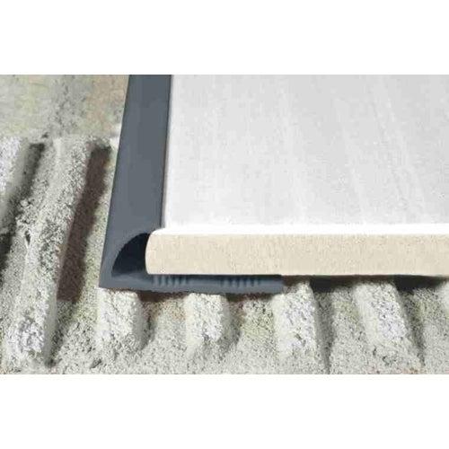 Listwa krawędziowa P53 ciemny szary 250 cm x 8 mm