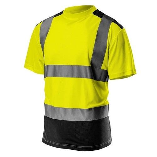 T-shirt ostrzegawczy żólty 81-730 NEO, rozm. 2XL (58)