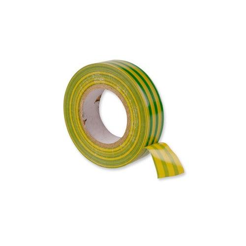 Taśma elektroizolacyjna Repero 711 19mm/20m żółto zielona