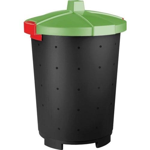 Kosz na śmieci Mattis 45 l zielony