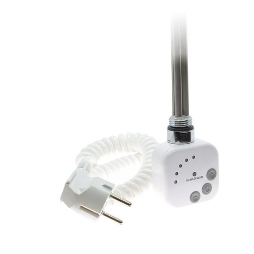 Grzałka elektryczna 1.0 600W, biała