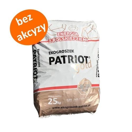 Ekogroszek Patriot Gold 26-28 MJ 25 kg  bez akcyzy