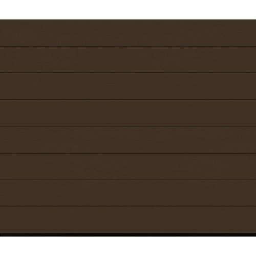 Brama segementowa z napędem Isomatic 42 2500x2125, brąz