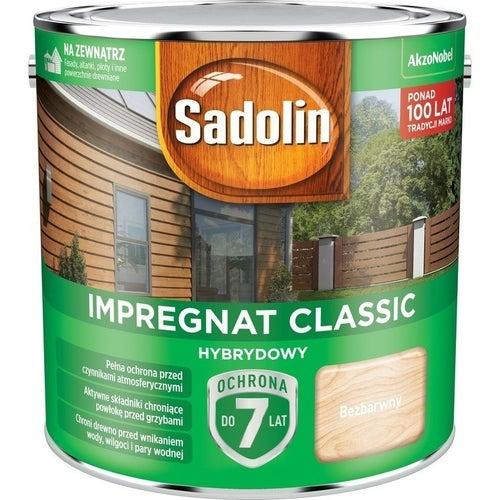 Impregnat hybrydowy Sadolin Classic bezbarwny 2,5l