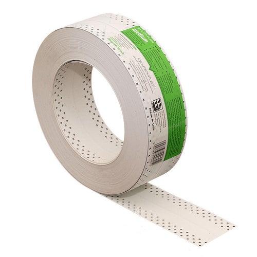 Taśma do połączeń i narożników wewnętrznych płyt g-k SMH-MEDIUM zielona 30 mb