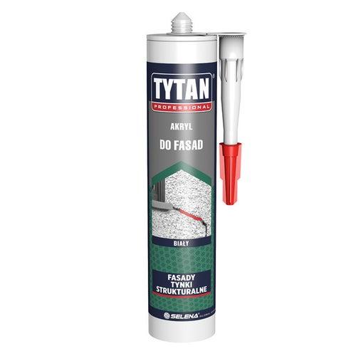 Akryl do fasad Tytan 280 ml, biały