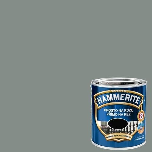 Farba antykorozyja Hammerite szary połysk 0,7l