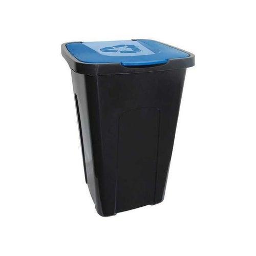 Kosz na śmieci 50l niebieski