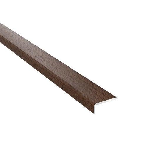 Profil podłogowy CS25 zakończeniowy 1200x25x10 aluminiowy dąb nebraska