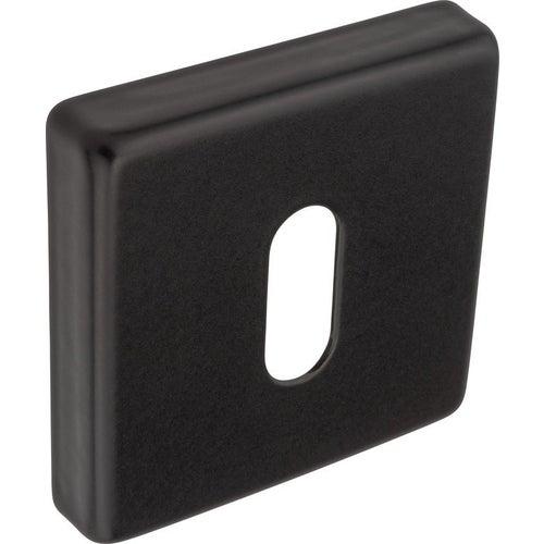 Szyld kwadratowy QUBE klucz czarny mat