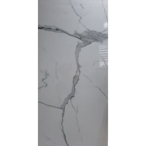 Gres szkliwiony polerowany Statuario Extra Vena 80x160 cm 2.56m2