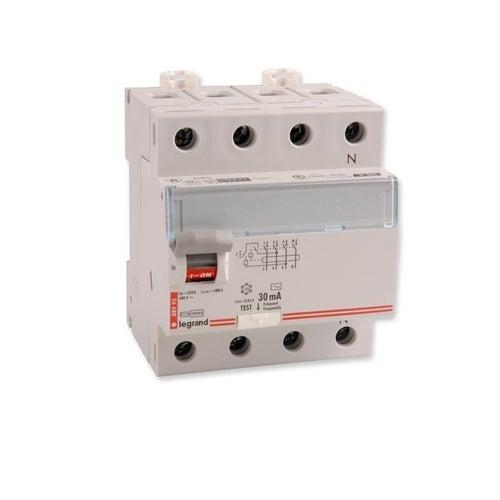 Wyłącznik różnicowoprądowy P304 4P 25A 30mA AC TX3 411707 Legrand