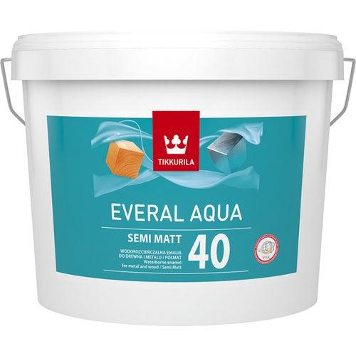 Emalia Tikkurila Everal Aqua Matt 9 l