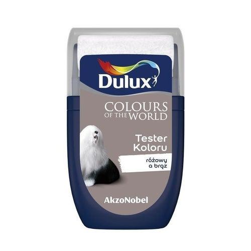 Farba Dulux Kolory Świata różowy a brąz 0,03l