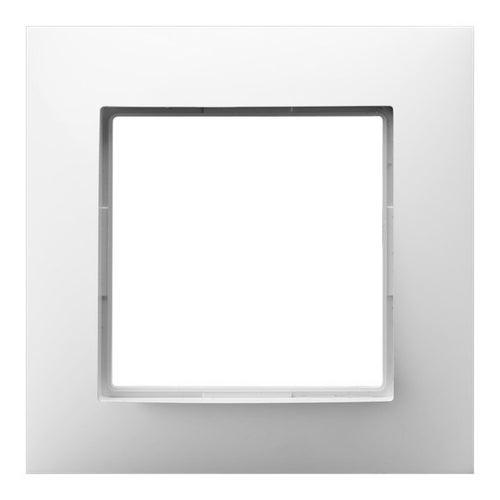 Ospel Aria biały ramka pojedyncza