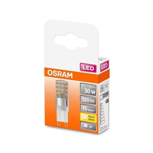 Żarówka LED 2,6W G9 320lm ciepło biała/2700K Osram