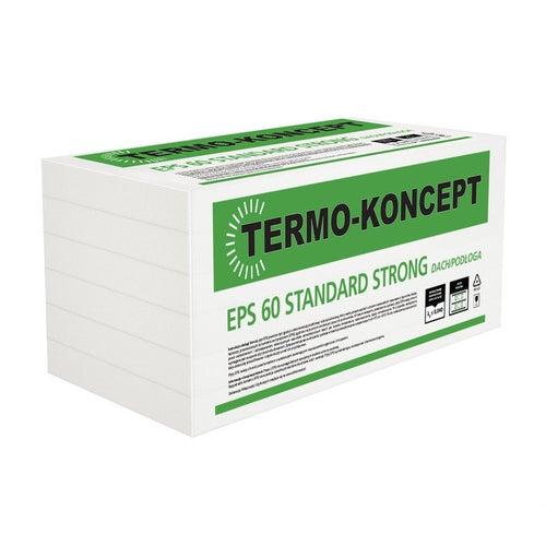 Styropian Termo-Koncept Strong Standard 5 cm EPS 60 kPa 0,040 W/(mK) 6 m2
