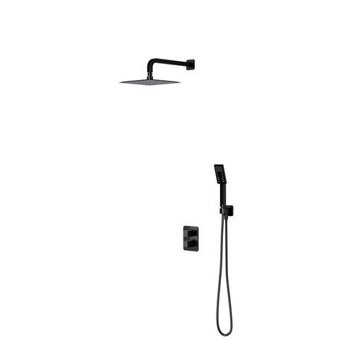 System podtynkowy prysznicowy z termostatem Omnires Parma SYSPM11BL