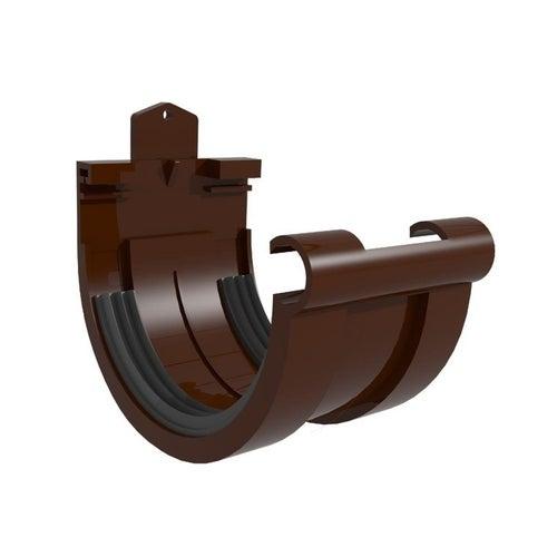 Złączka rynnowa G125, brązowa PVC Scala Plastics