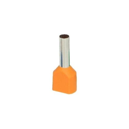 Końcówka tulejkowa izolowana 2 x 4 mm2 / 12 mm 25szt