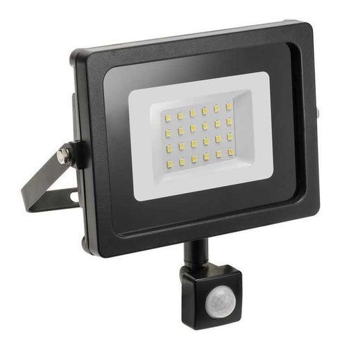Naświetlacz LED 10W 800lm 6400K IP65 z czujnikiem ruchu