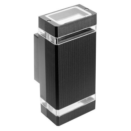 Kinkiet Nessa 2x50W GU10 IP54 czarny