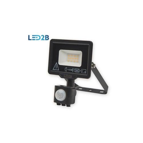 Naświetlacz MH LED 10W 800lm 6000K IP44 z czujnikiem ruchu