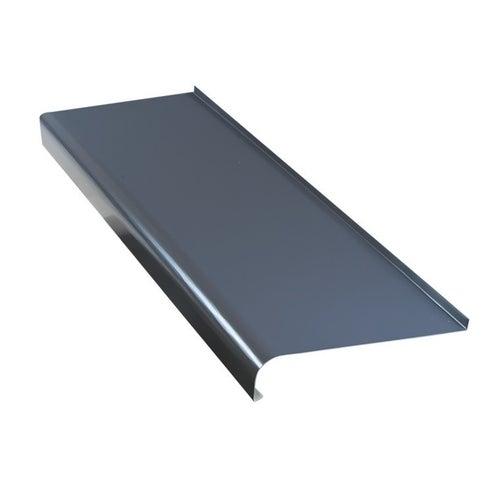 Parapet zewnętrzny stalowy grafit 20x150cm
