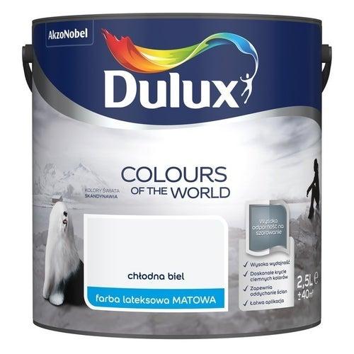 Farba Dulux Kolory Świata chłodna biel 2,5l