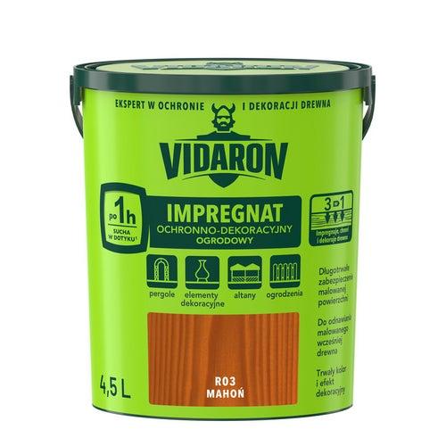 Impregnat ogrodowy Vidaron mahoń 4,5l