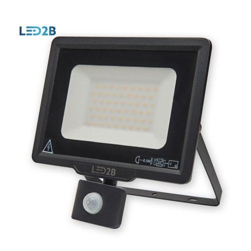 Naświetlacz MH LED 50W 4000lm 6000K IP65 z czujnikiem ruchu