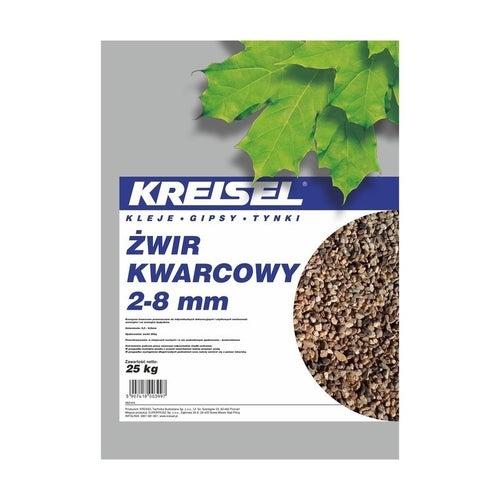 Żwir kwarcowy 2-8 mm Kreisel 25 kg