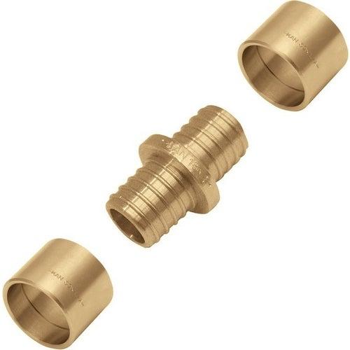 Kan Press Łącznik mosiężny z pierścieniem 18×2/18×2,5 mm