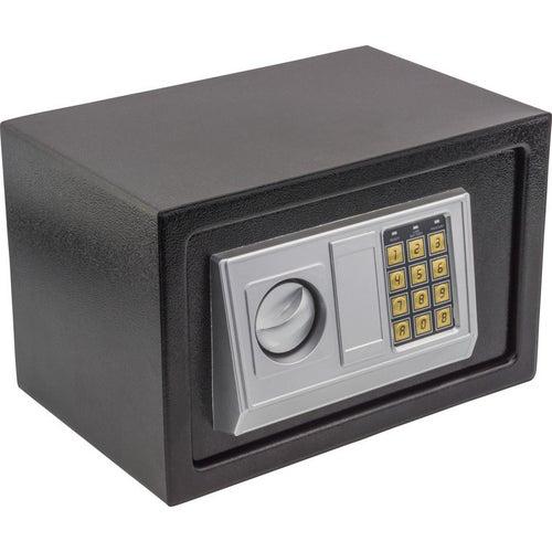 Sejf zamkiem elektronicznym EDL-20 wym. zewnętrze 310x200x200 mm, diody LED,