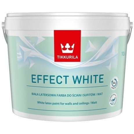 Farba lateksowa Tikkurila Effect White 10 l