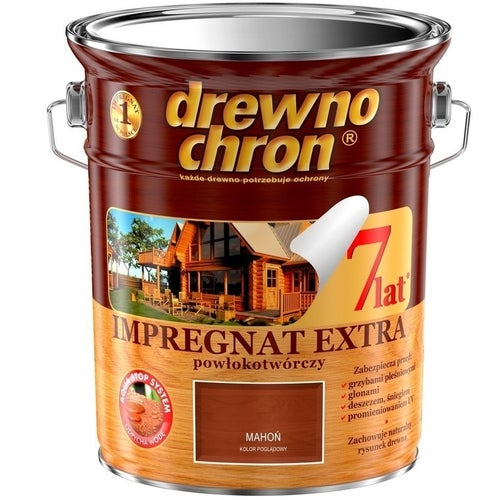 Impregnat Drewnochron Extra mahoń 4,5l