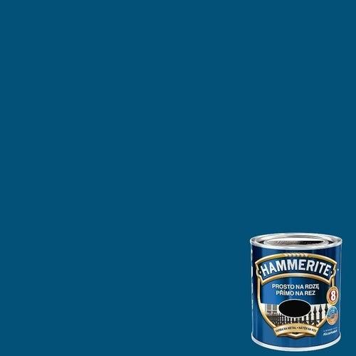 Farba antykorozyja Hammerite niebieski połysk 0,25l