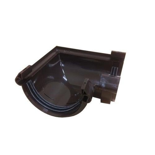 Łącznik kątowy uniwersalny G125, brązowy PVC Scala Plastics