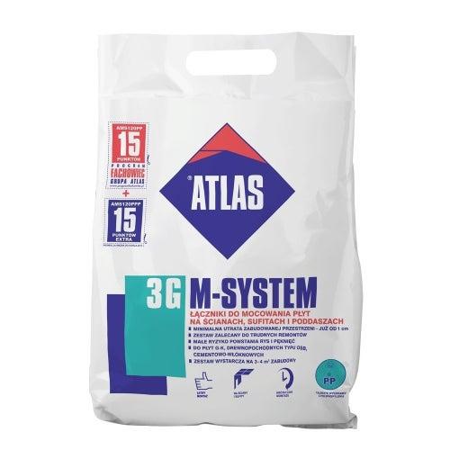 Atlas M-system 3G L- 200 mm łączniki do mocowania płyt