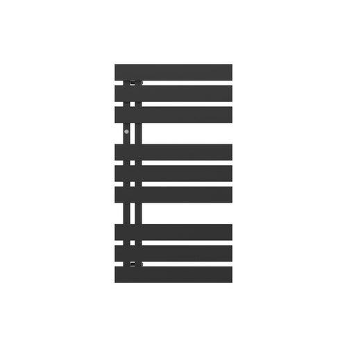 Grzejnik łazienkowy Nameless 90x50 cm, czarny matowy