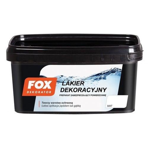 Lakier dekoracyjny Fox mat 1l
