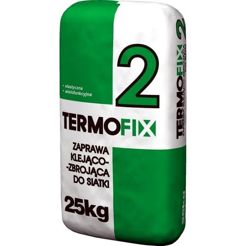 Zaprawa klejąca do styropianu i siatki Termofix-2 25 kg