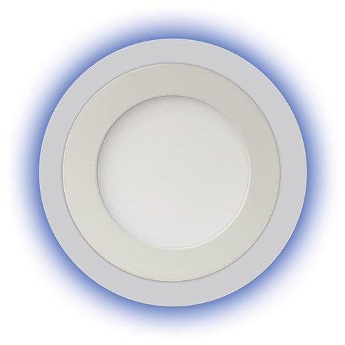 Oczko sufitowe Alina LED 3W+3W 270lm 4000K IP42 niebieski