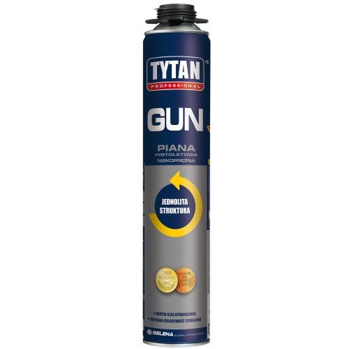 Piana poliuretanowa montażowa Tytan O2 750 ml, pistoletowa