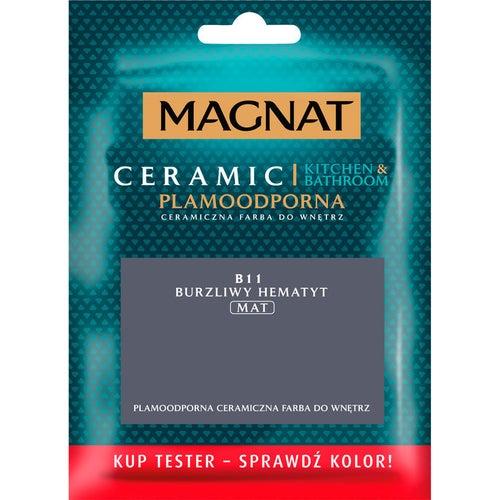Farba Magnat Ceramic Kitchen&Bathroom tester burzliwy hematyt 0,03l