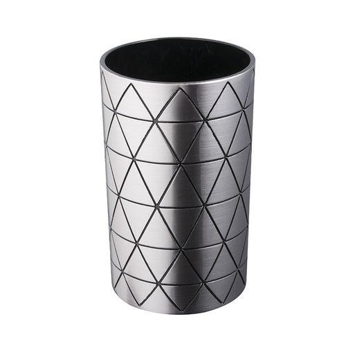 Kubek kosmetyczny Star srebrny