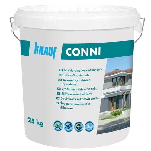 Tynk elewacyjny silikonowy Conni Knauf 25 kg, 1.5 mm, biały